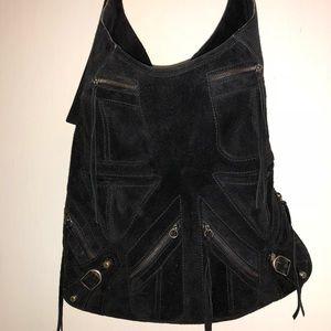 Balenciaga large motorcycle shoulder bag